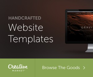 visit Creative Market for all your wordpress theme needs